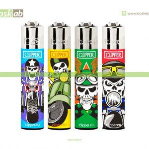 Clipper Large Decorado Skulls Ride - 208