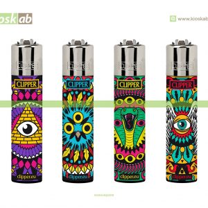 Clipper Large Decorado Eye Mandalas 2 - 238