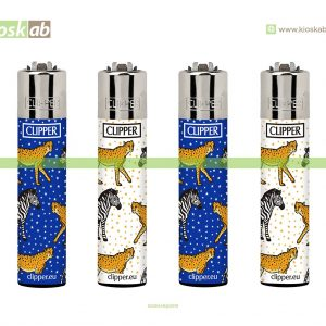 Clipper Large Decorado Leopardo - 246