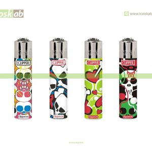 Clipper Micro Decorado Skulls Print - 266