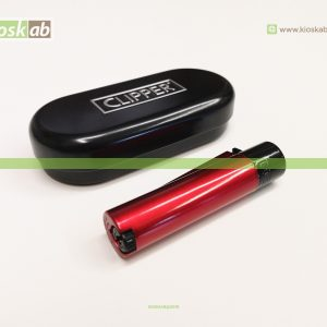 Clipper Isqueiro Large Metal Night Red