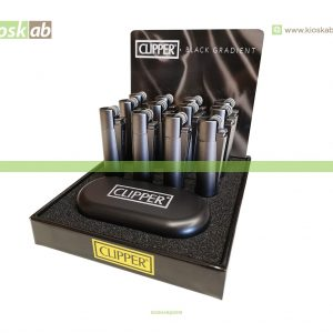 Clipper Isqueiro Micro Metal Black Gradient (12)