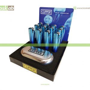 Clipper Isqueiro Micro Metal Blue Gradient (12)