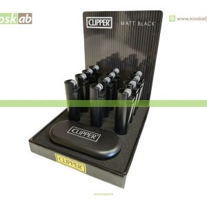 Clipper Isqueiro Large Metal Matt Black (12)