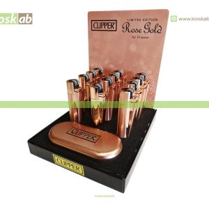 Clipper Isqueiro Large Metal Rose Gold(12)