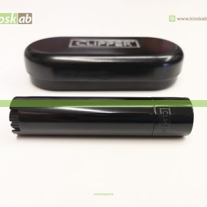 Clipper Isqueiro Large Metal Night Black