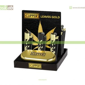 Clipper Large Metal Leaves Gold