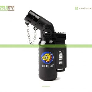 The Bulldog Amsterdam Lighter Single Laser Black