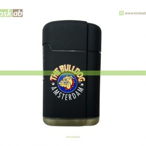 The Bulldog Amsterdam Lighter Double Laser Black