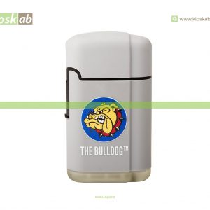 The Bulldog Amsterdam Lighter Double Laser Grey