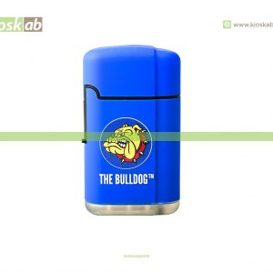The Bulldog Amsterdam Lighter Double Laser Blue