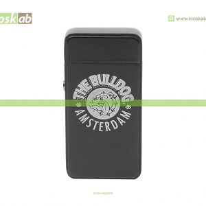 The Bulldog Amsterdam Lighter Plasma Matte Black