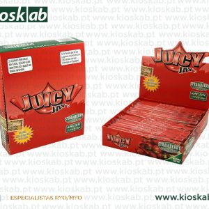 Juicy Jays Ks Slim Strawberry (24)