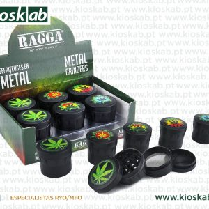Ragga Grinder Metálico Black Leaf Colors (6)