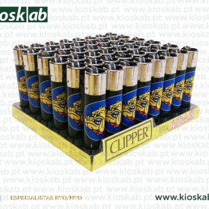 Clipper Large Decorado The Bulldog Amsterdam Black