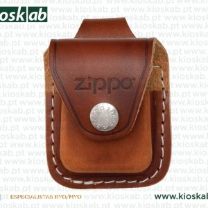 Zippo Pouch Loop Brown