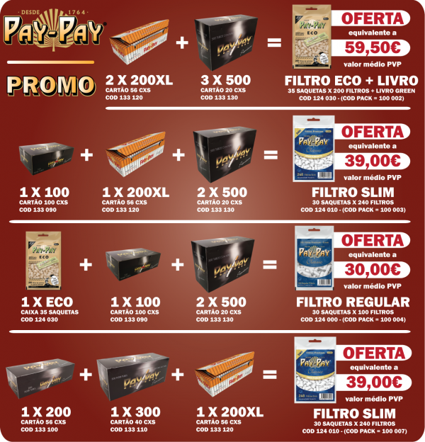 Pay-Pay Pack 4