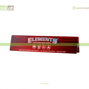 Elements Red King Size Slim (50)