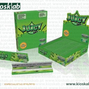 Juicy Jays Ks Slim Green Apple (24)