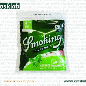 Smoking Filtros Menthol Slim (10)