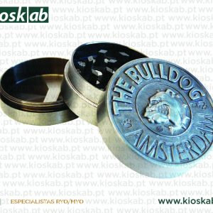 The Bulldog Amsterdam Grinder Metálico 3 Parts