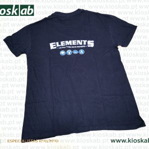 Elements T-Shirt Dark Blue S