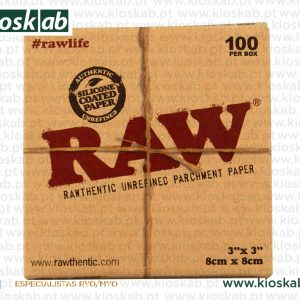 Raw Parch Square (100)