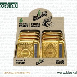Belflam Rolling Machine Gold 70mm