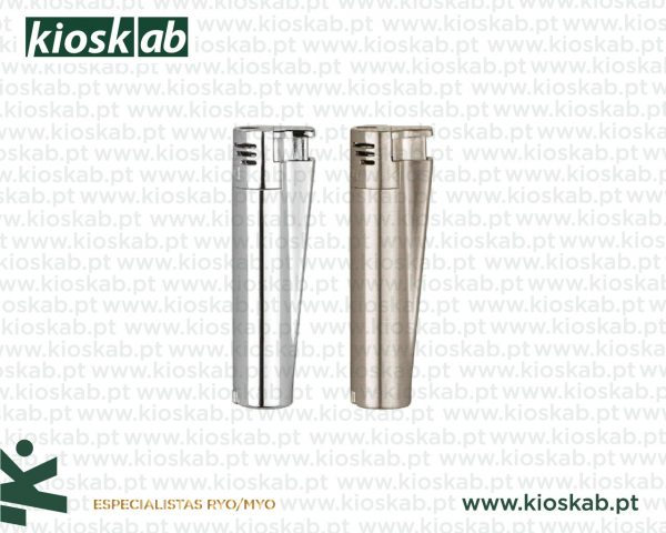 Clipper Large Metal Electronic Silver (12)
