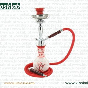 Ragga Shisha Waterpipe Red