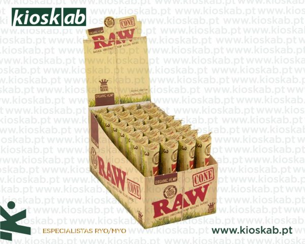 Raw Organic Cones KS (32x3)