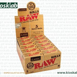 Raw Rolls King Size Slim 5m (24)