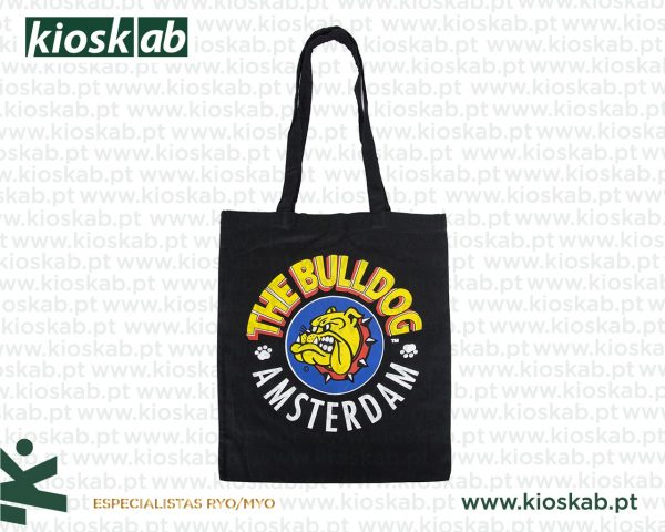 The Bulldog Amsterdam Cotton Bag Black