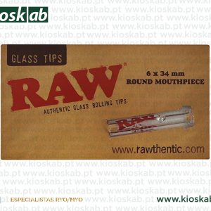 Raw Glass Tip Round
