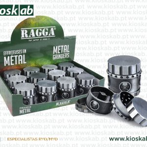 Ragga Grinder Metálico Brush Magnetic (12)