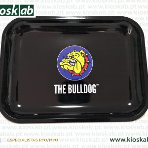 The Bulldog Metal Rolling Tray Logo XL