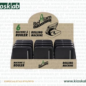 Belflam Rolling Machine Black 70mm