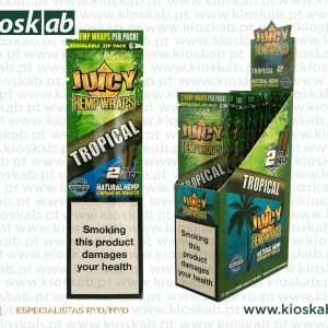 Juicy Jay´s Hemp Wraps Tropical (25)