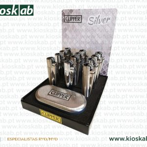 Clipper Isqueiro Large Metal Silver (12)