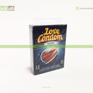 Preservativos Love Condom Sensitive Pk.3 (48)