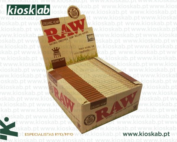 Raw King Size Slim Organic (50)