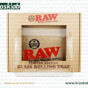 Raw Glass Rolling Tray