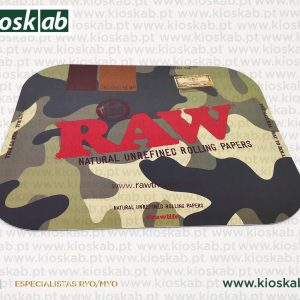 Raw Camouflage Magnetic Rolling Tray Cover