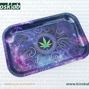 Ragga Rolling Tray Purple Haze