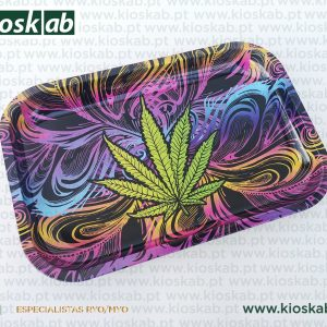 Ragga Rolling Tray Leaf On Waves