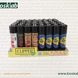 Clipper Large Decorado The Bulldog + Raw Assorted #4