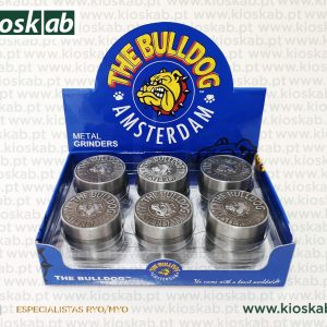The Bulldog Amsterdam Grinder Metálico 2 Parts (12)