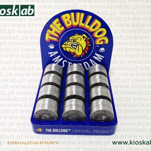 The Bulldog Amsterdam Grinder Metálico 3 Parts (12)