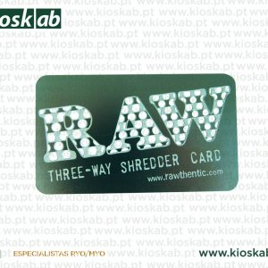 Raw Shredder Card