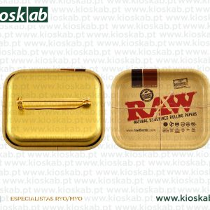 Raw Rolling Tray Miniature Pin